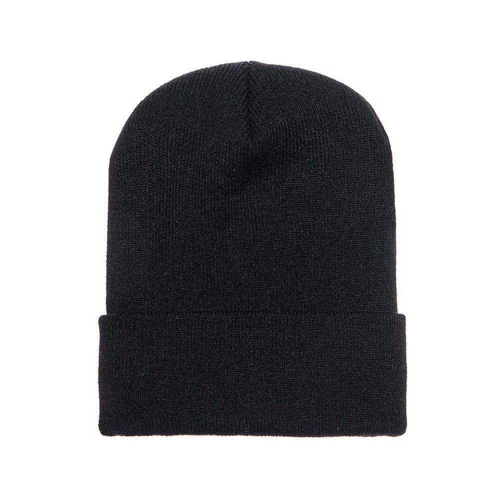 Yupoong - Fold Up Beanie - Black
