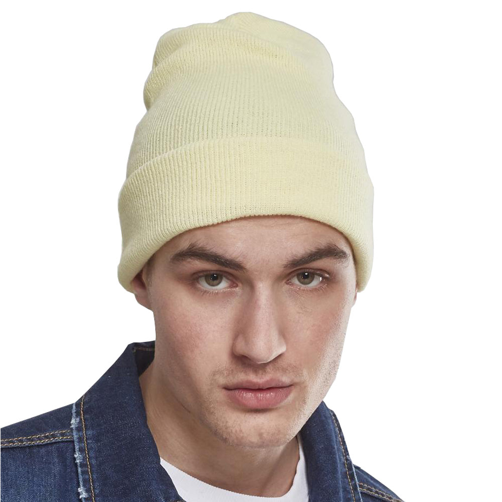Yupoong - Fold Up Beanie - P. Yellow