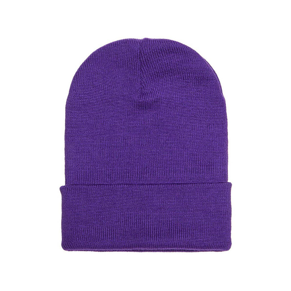 Yupoong - Fold Up Beanie - Purple