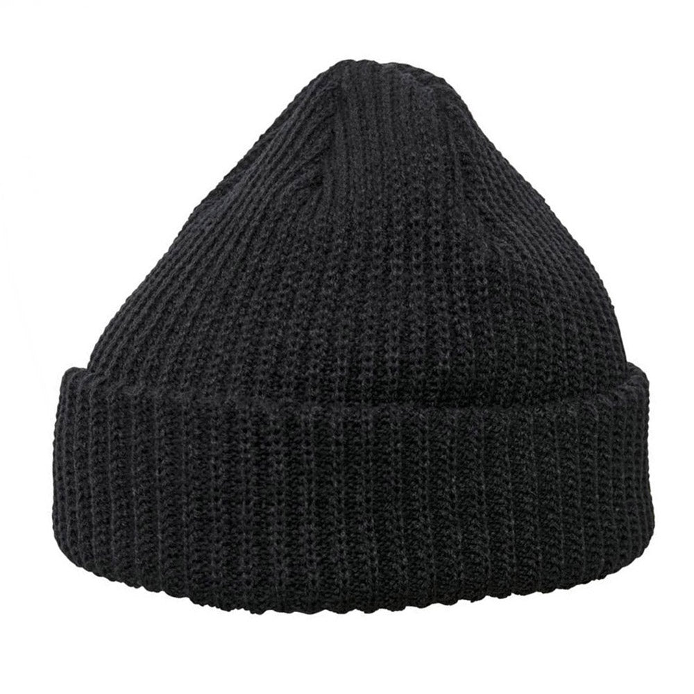 Yupoong - 1502 Fold Up Beanie - Black