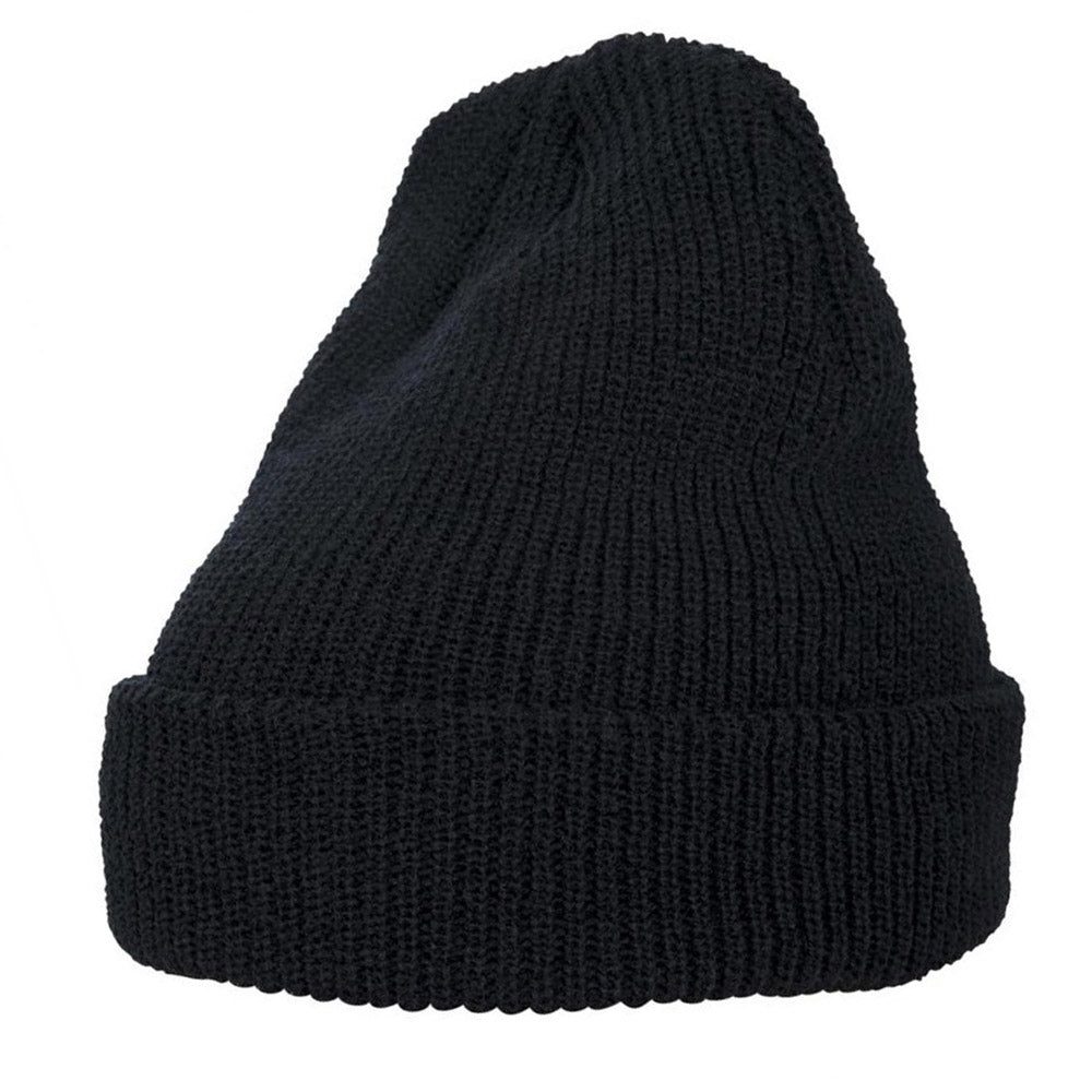 Yupoong - 1545 Fold Up Beanie - Black
