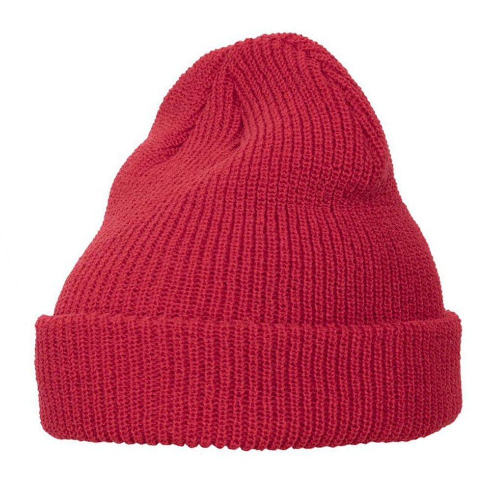 Yupoong - 1545 Fold Up Beanie - Red