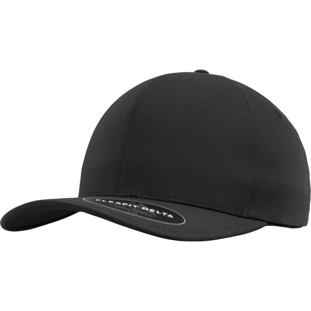 Flexfit - Delta 180 Baseball Cap - Black