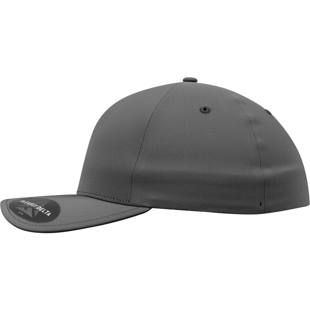 Flexfit - Delta 180 Baseball Cap - D. Grey
