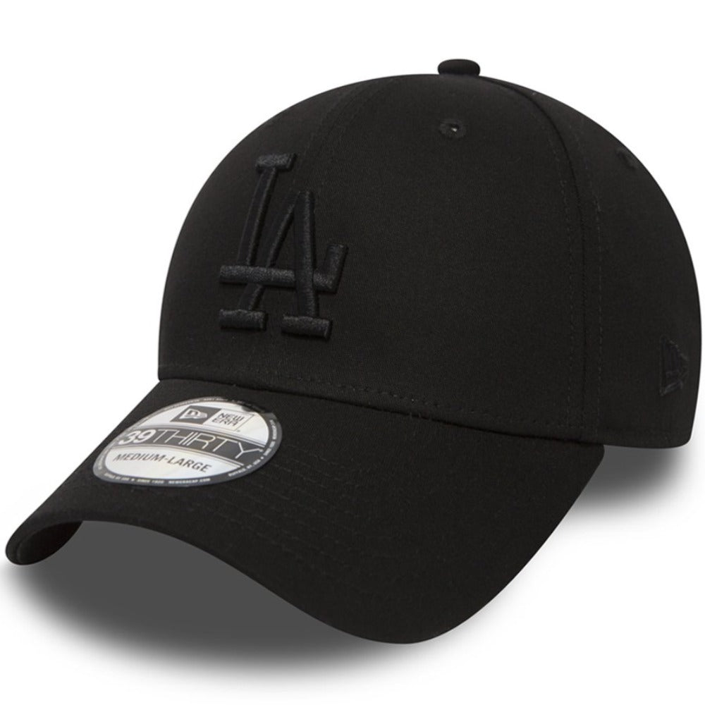 New Era - 39Thirty - Los Angeles Dodgers - Black On Black (Default)
