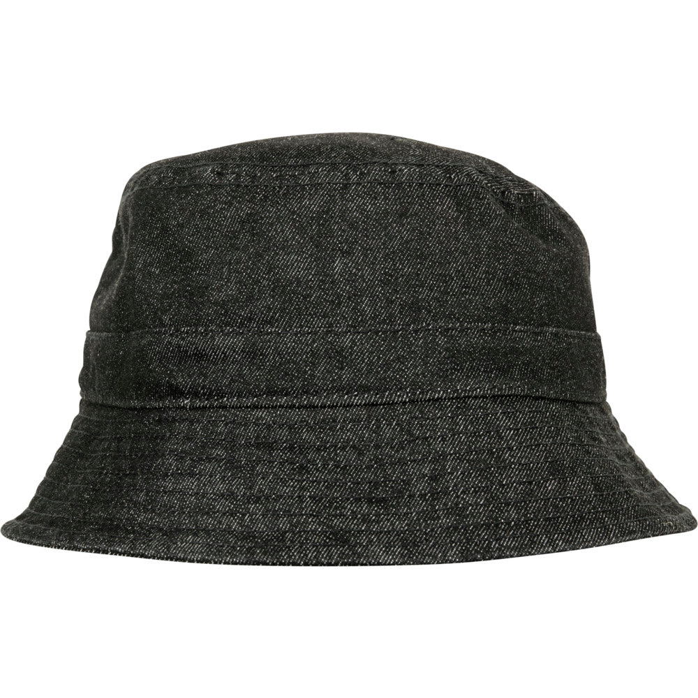 Flexfit - Denim Bucket Hat - Black