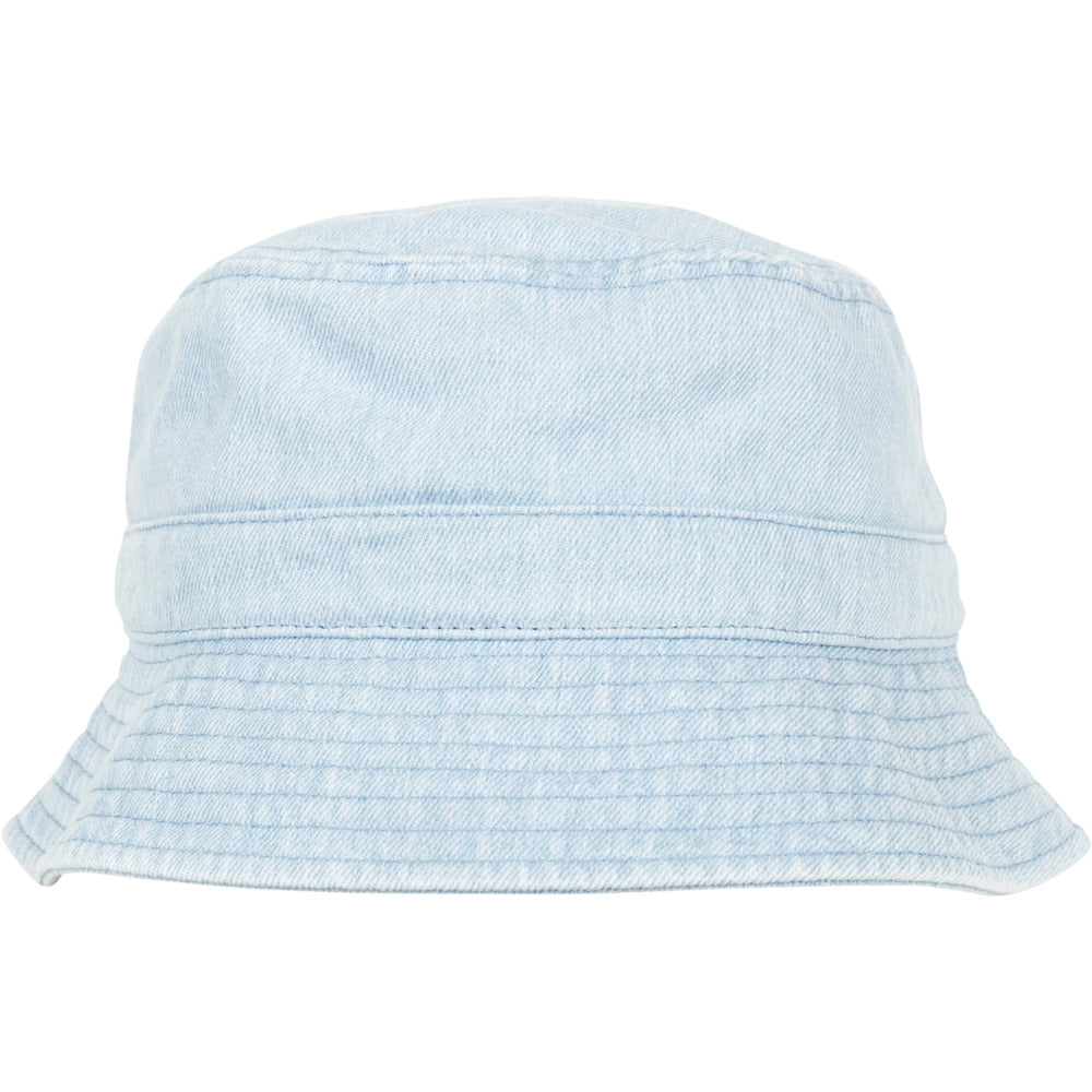 Flexfit - Denim Bucket Hat - Blue