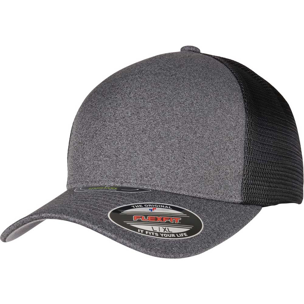 Flexfit - Unipanel Trucker - Dark Grey/Black