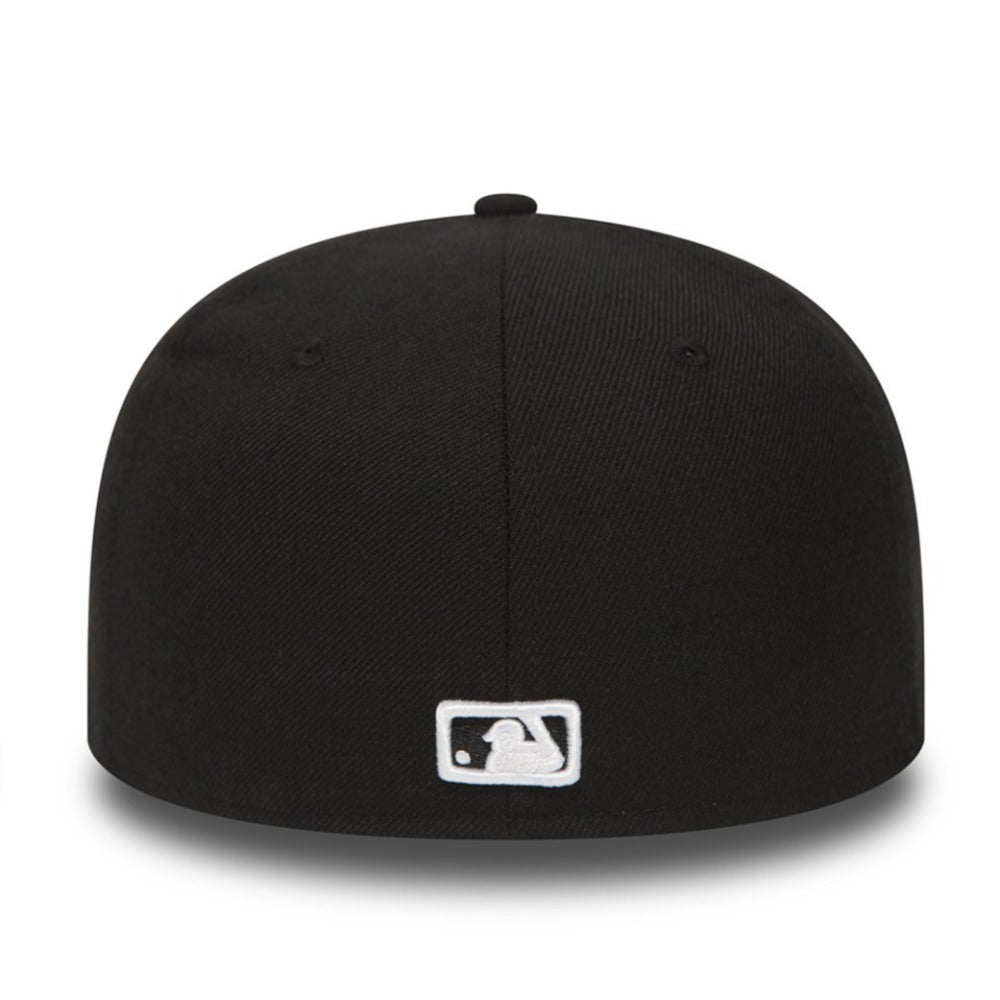 New Era 59Fifty Atlanta Braves Fitted Black