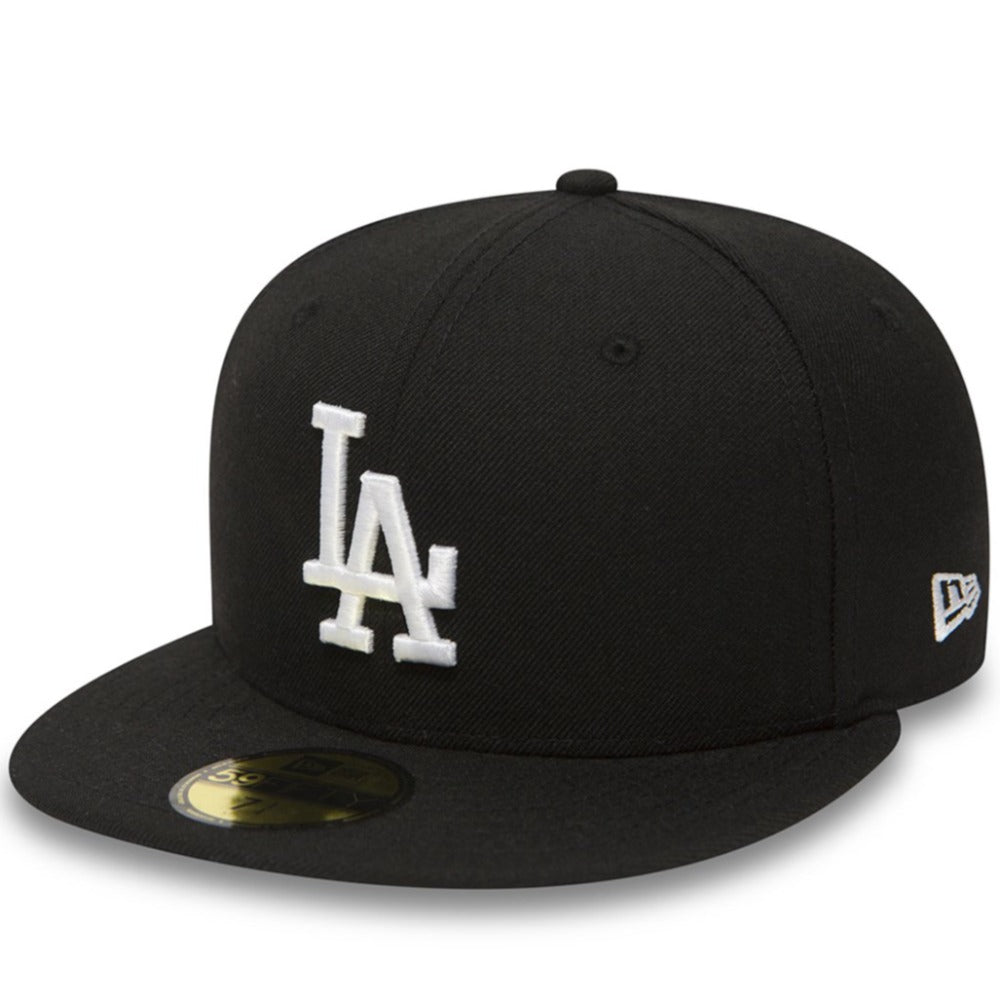 New Era - 59Fifty Fitted - Los Angeles Dodgers - Black/White