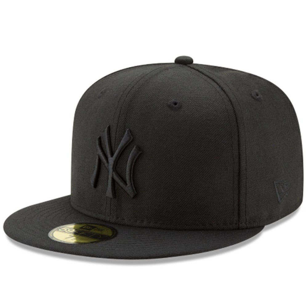 59Fifty - Fitted - New York Yankees - Black On Black