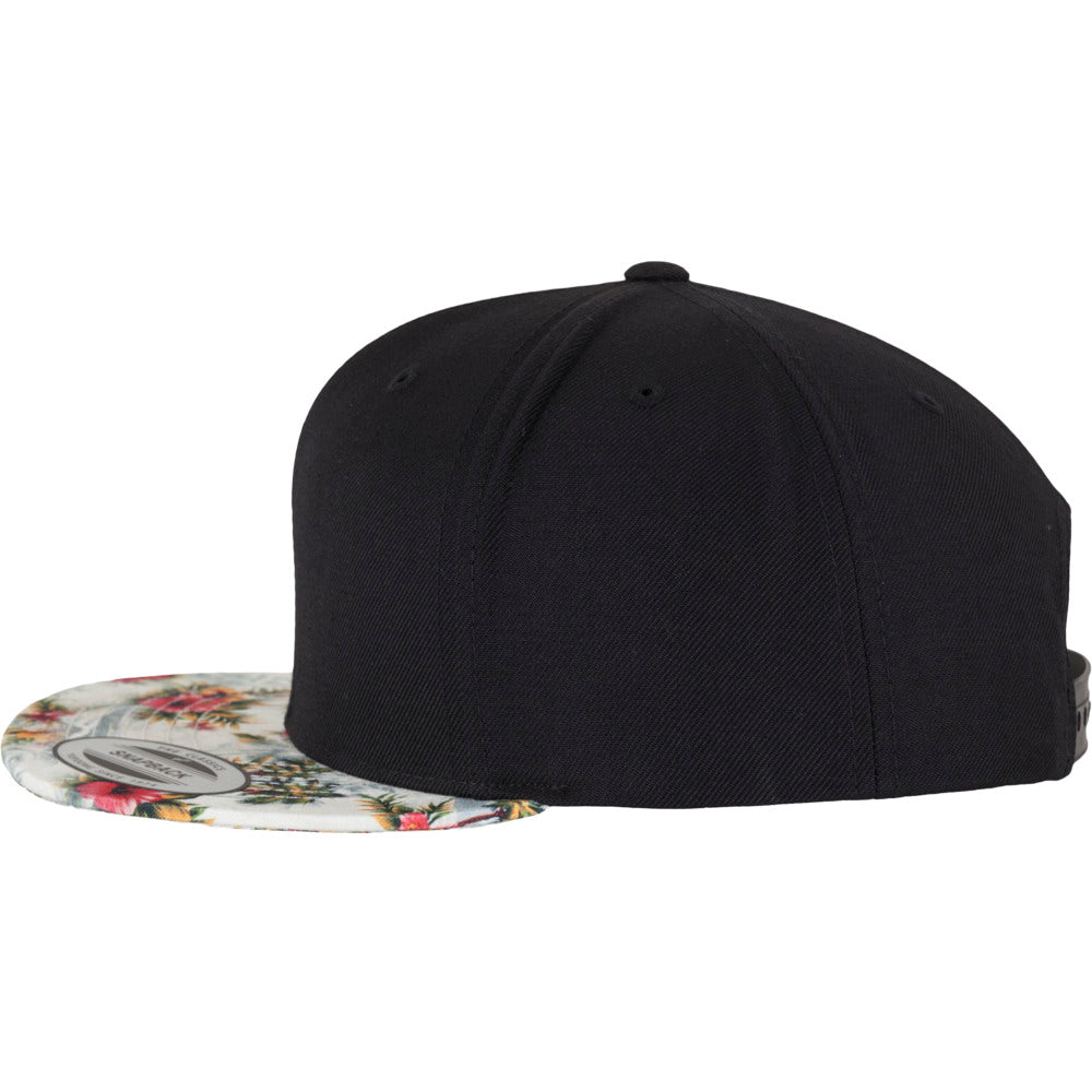 Yupoong - Floral Snapback - Mint Floral