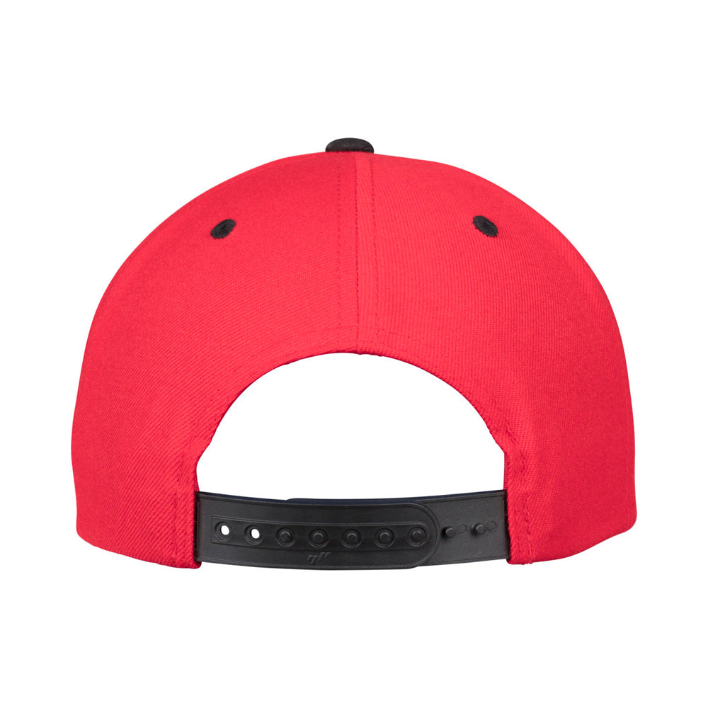 Yupoong - Snapback - Red/Black