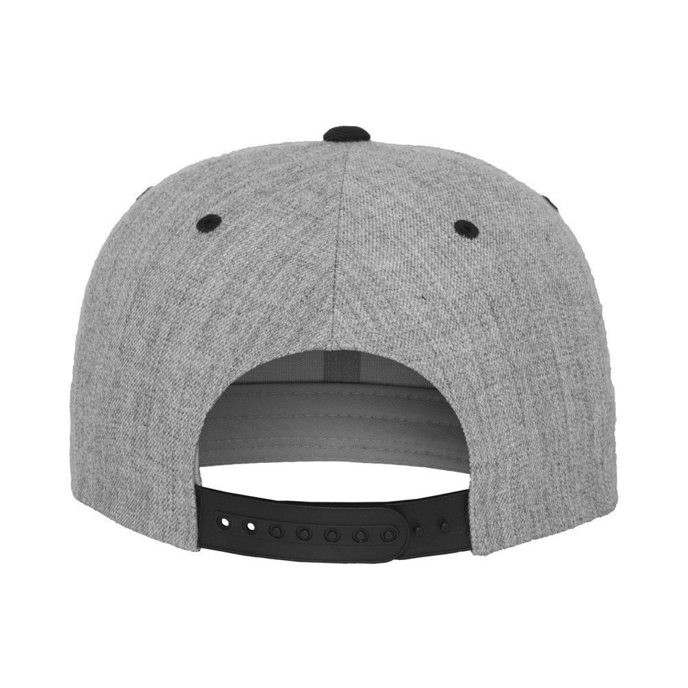 Yupoong - Youth Snapback - Heather Grey/Black