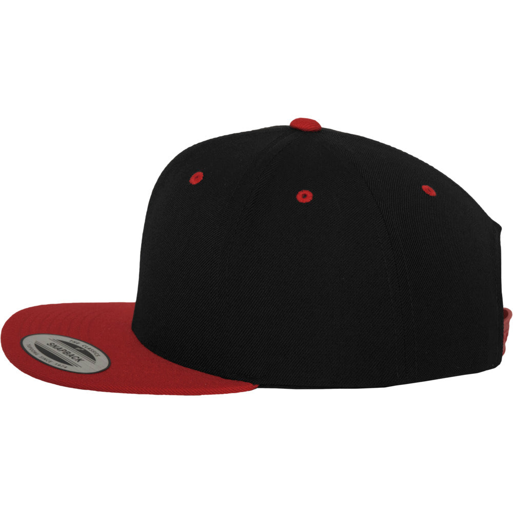 Yupoong - Snapback - Black/Red