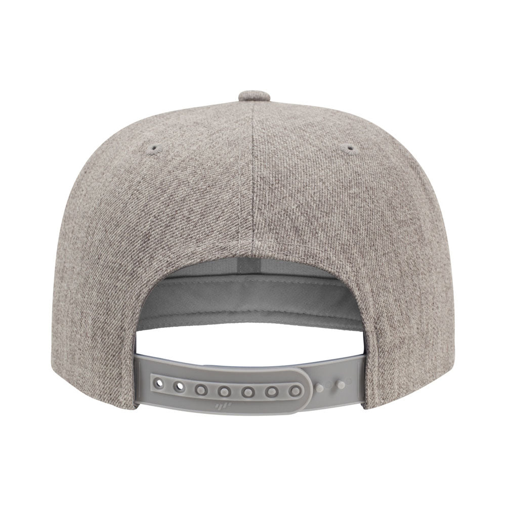 Yupoong - Youth Snapback - Heather Grey