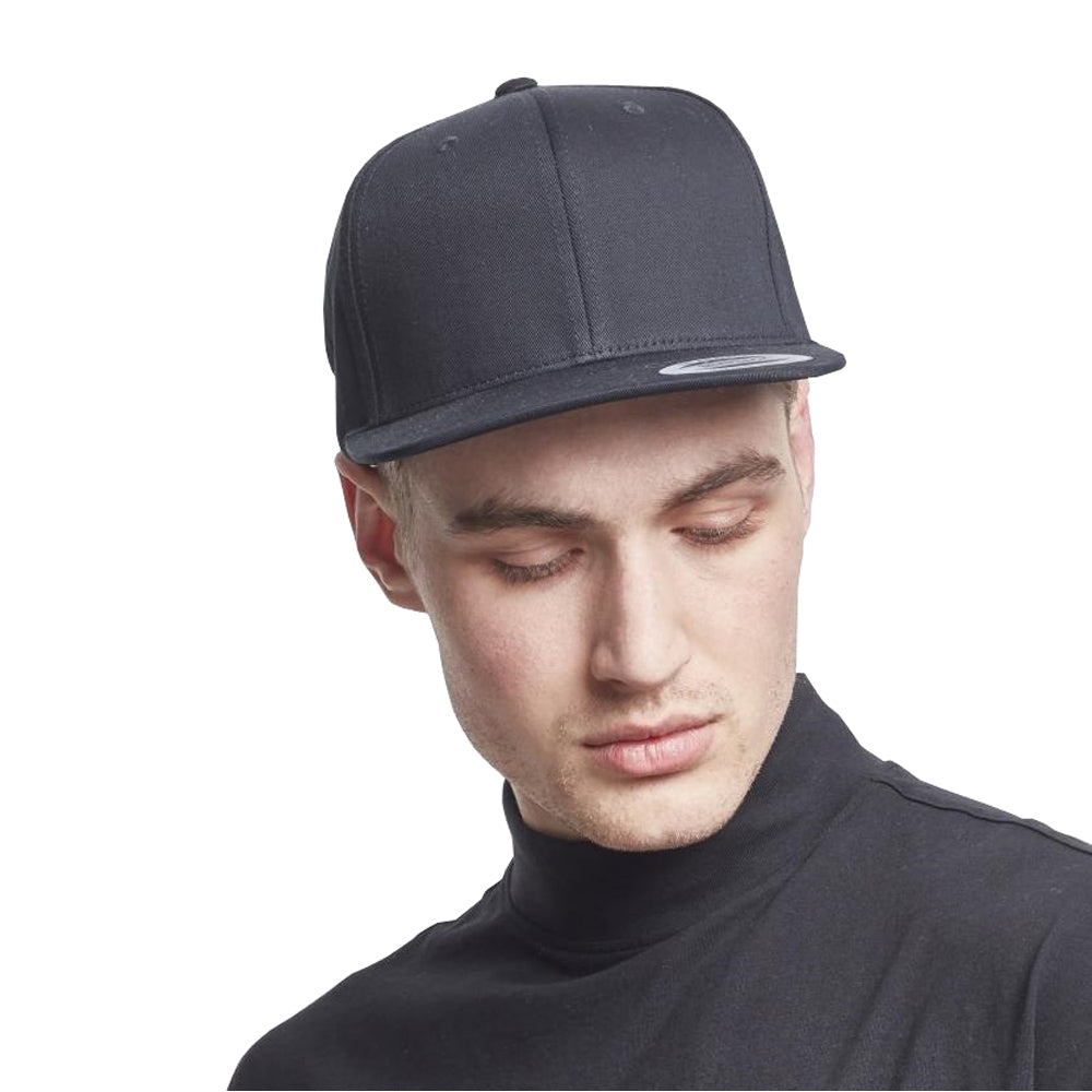 Yupoong - Organic Cotton Snapback - Black