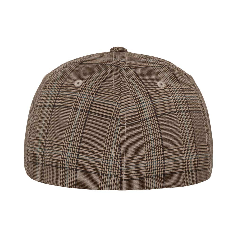 Flexfit - Baseball Cap - Brown/Khaki Glen Check