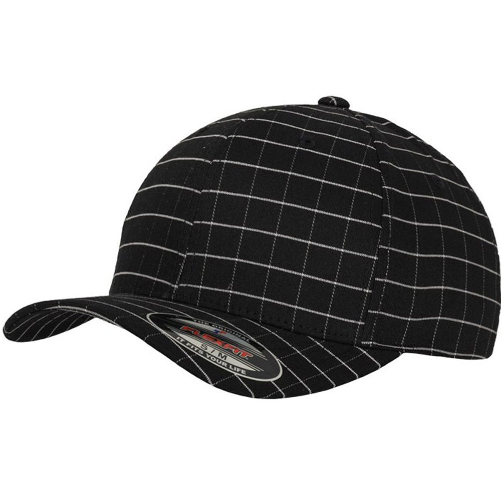 Flexfit - Baseball Cap - Black/White Check