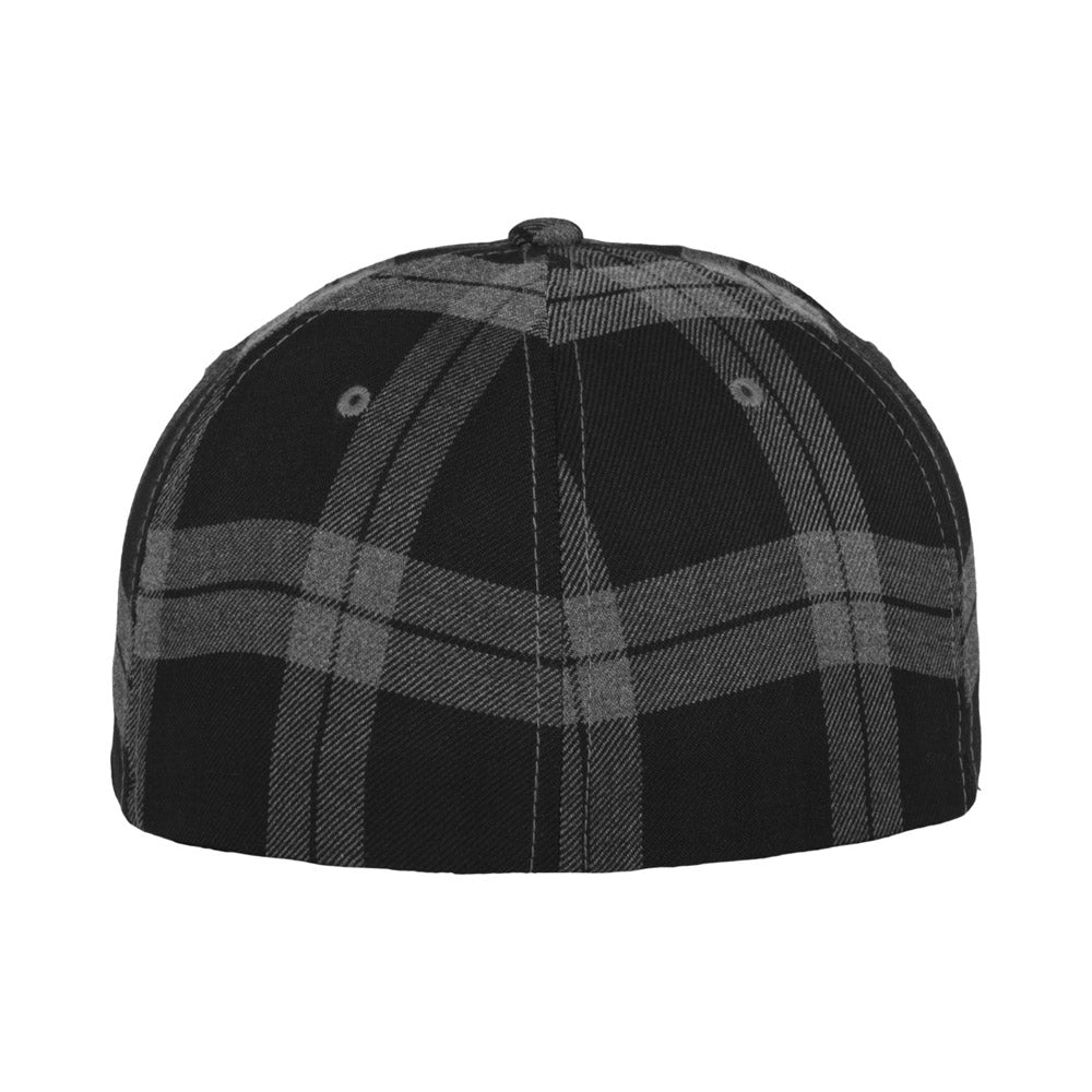 Flexfit - Baseball Cap - Black/Grey Check