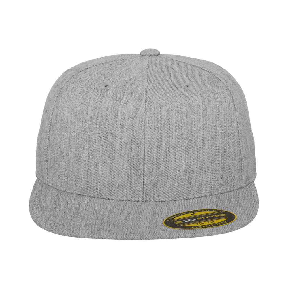 Flexfit - 210 Fitted Cap - Heather Grey
