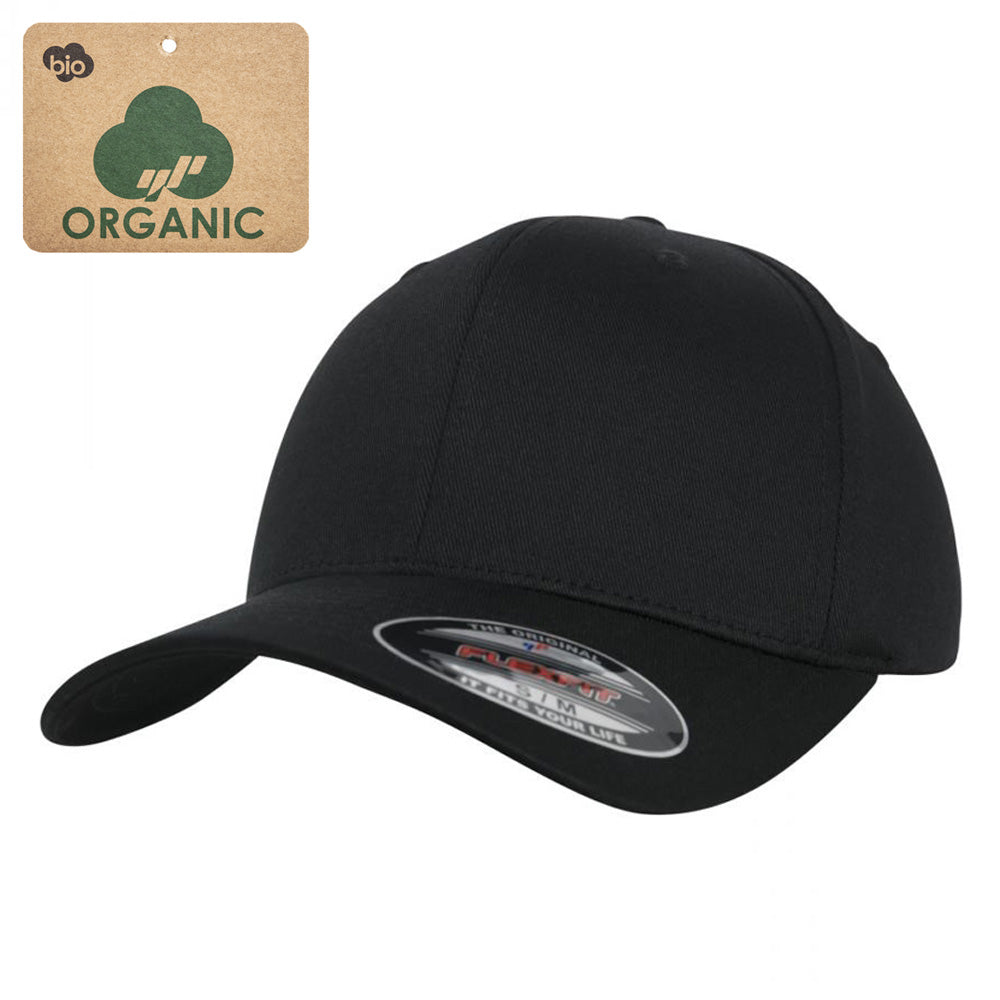 Flexfit - Organic Baseball Cap - Black