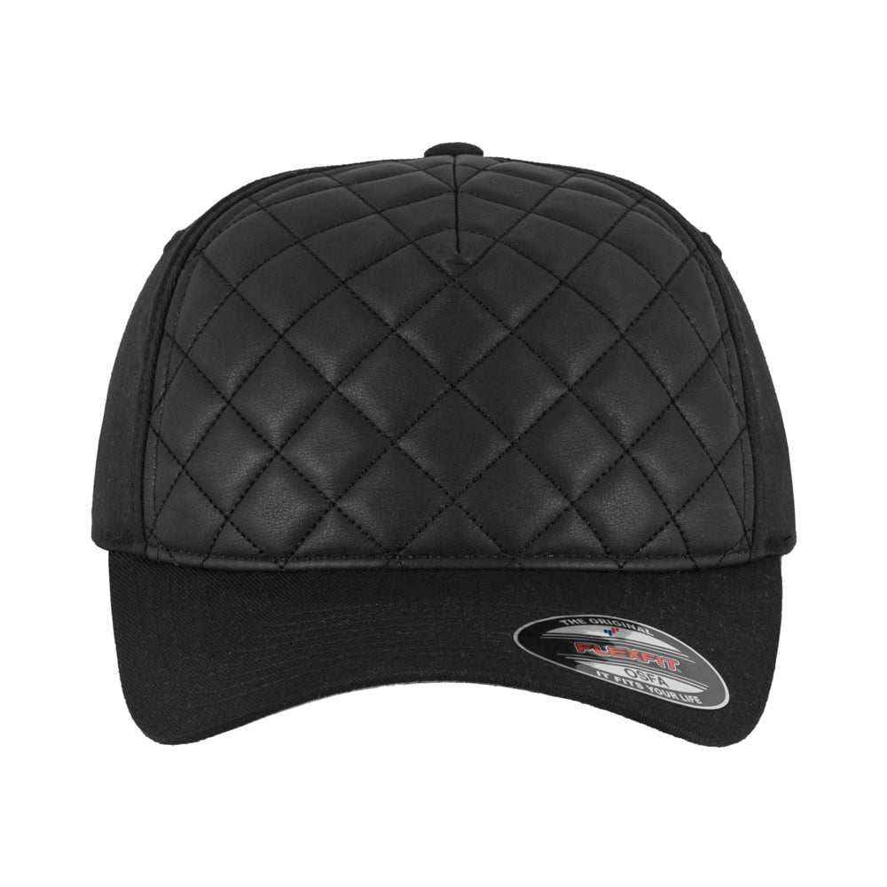Flexfit - Baseball Cap - Black Quilt