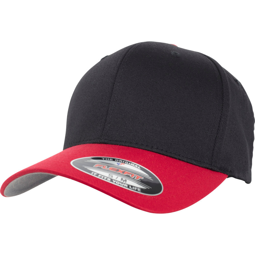 Flexfit - Baseball Cap - Black/Red