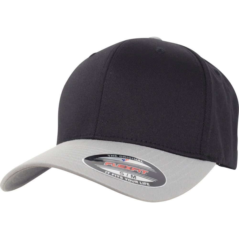 Flexfit - Baseball Cap- Black/Silver