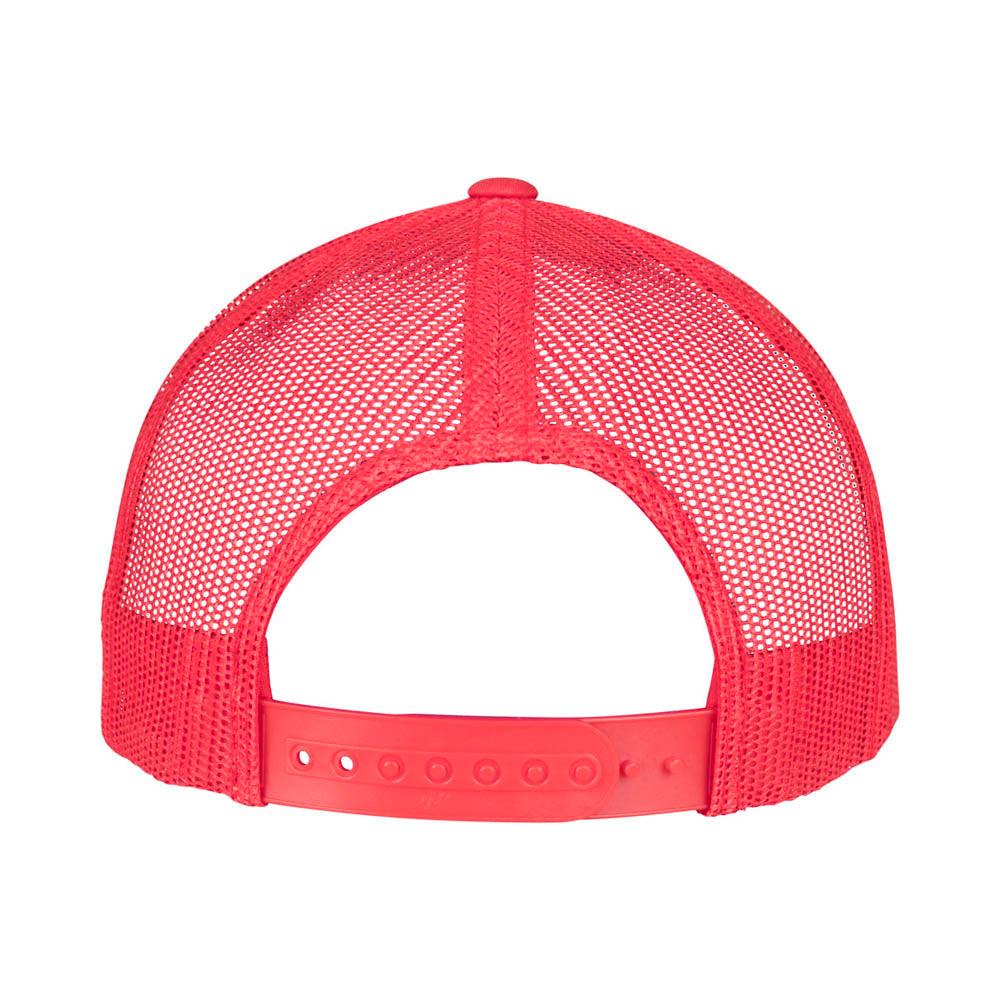 Yupoong - 5-Panel Trucker Cap - Red