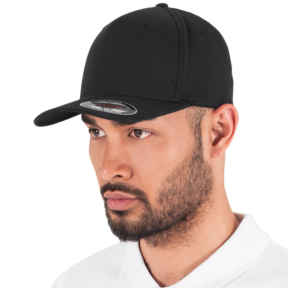 Flexfit - 5-Panel Baseball Cap - Black