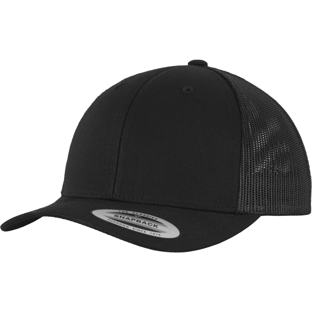 Yupoong - 6-Panel Trucker Cap - Black