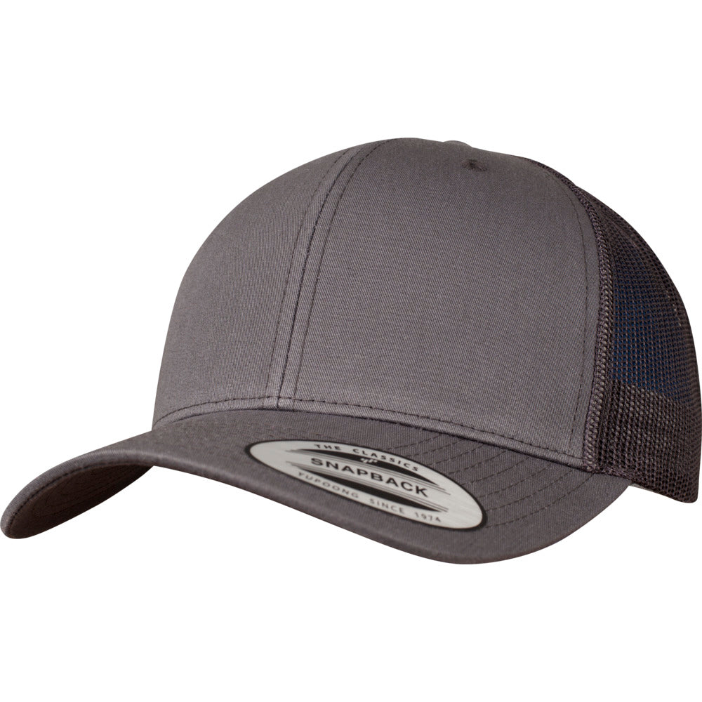 Yupoong - 6-Panel Trucker Cap - Dark Grey