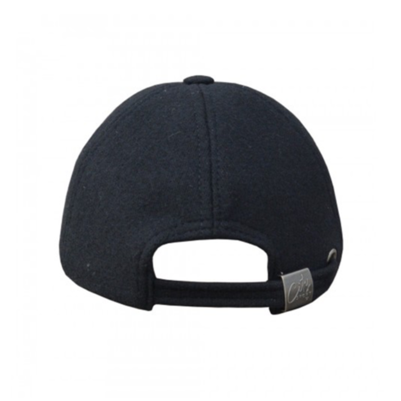 Dad Cap (7029) - Black Wool