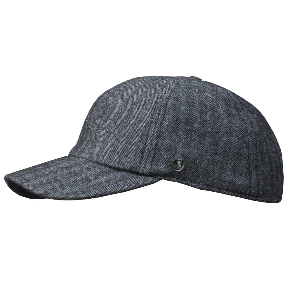 City Sport - Dad Cap Winter - Dk Grey Melange