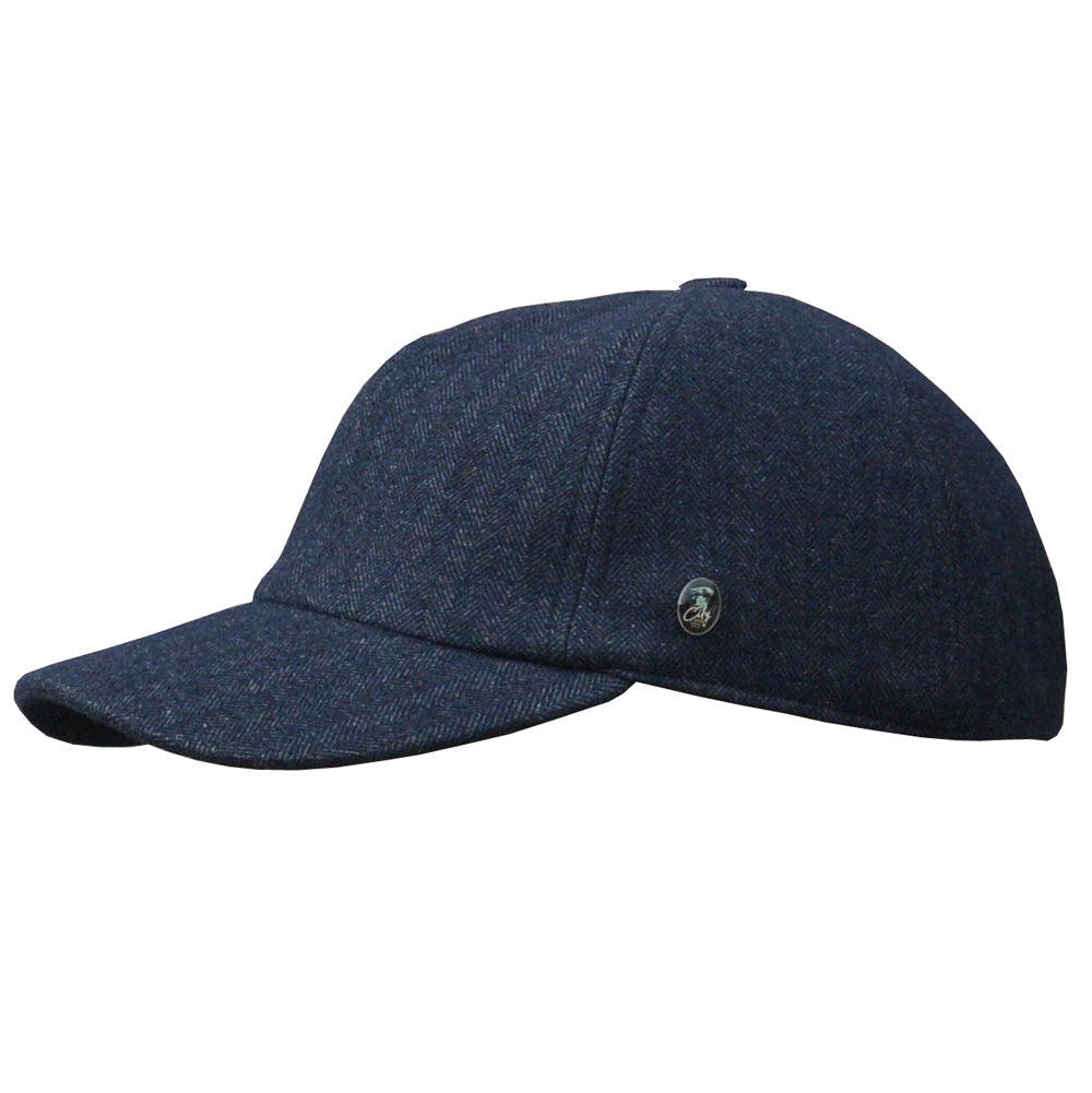 City Sport - Dad Cap Winter - Dk Navy Melange