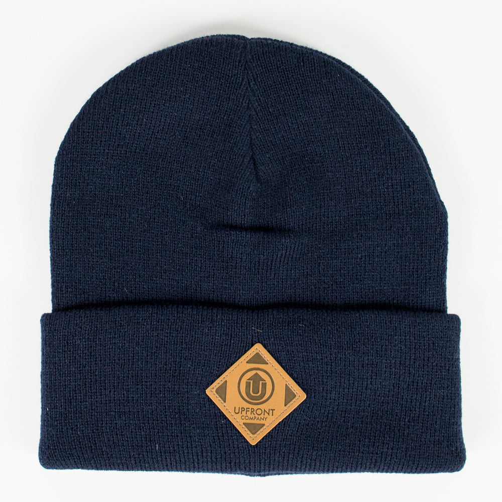 Upfront OFFICIAL UF Fold BeanieDk Navy