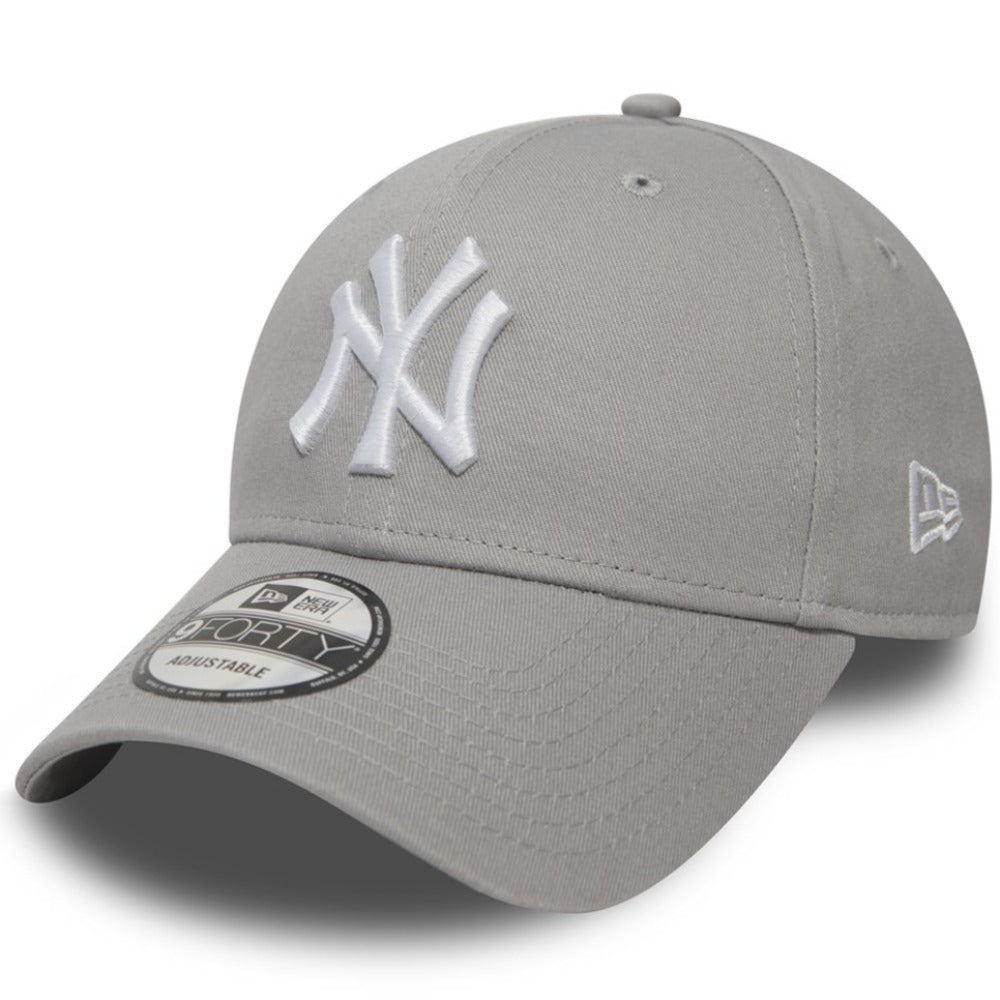 New Era - 9Forty - New York Yankees - Grey/White