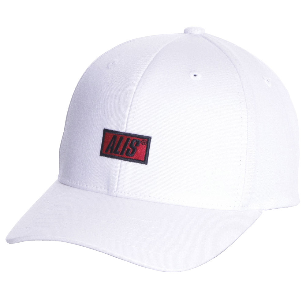 Classic snapback curved - White