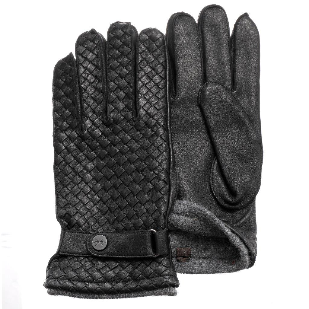 Pearlwood - Bond Leather Gloves - Black