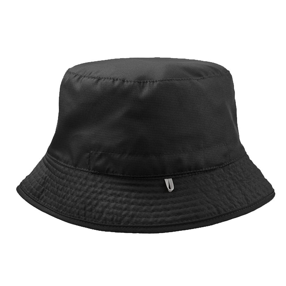 Atlantis - Pocket Bucket Hat - Black/Grey