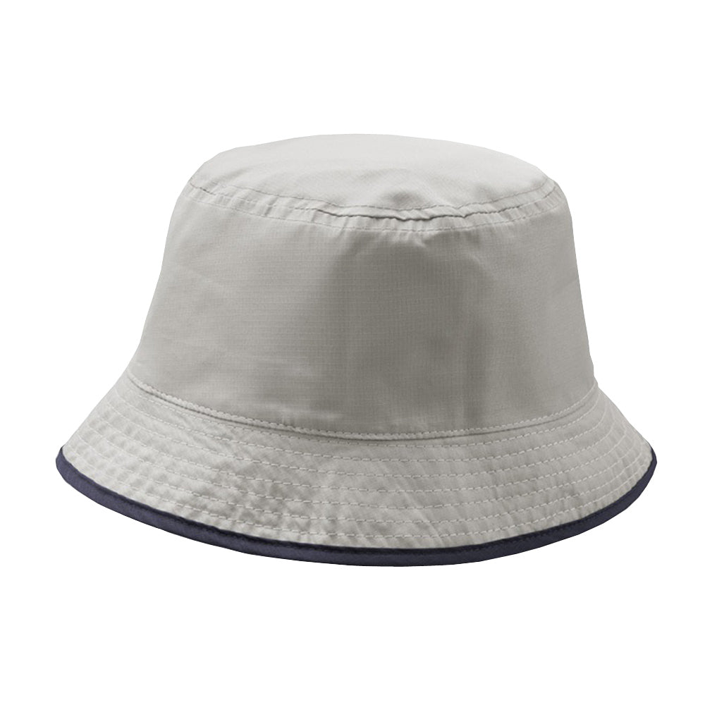 Atlantis - Pocket Bucket Hat - Navy/Grey