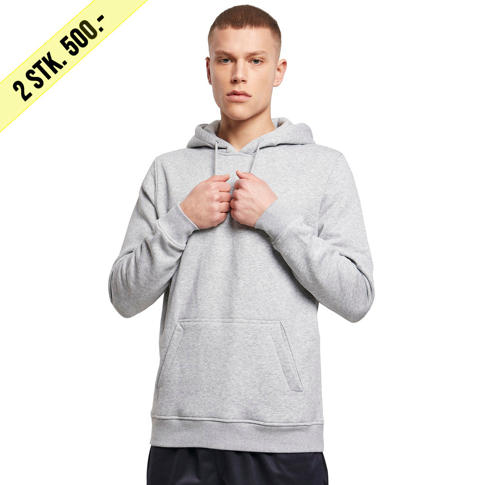 Capstore - Heavy Hoodie - Heather Grey