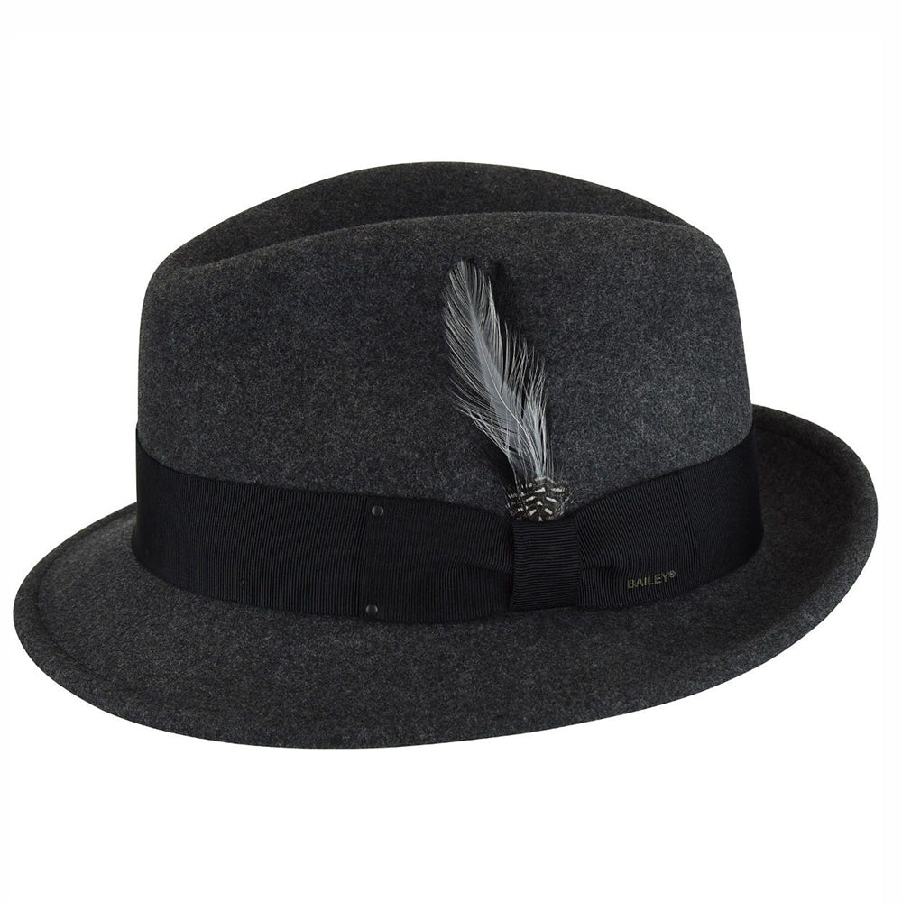 Bailey - Tino Felt Hat - Black Mix