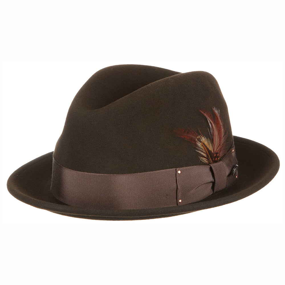 Bailey - Tino Felt Hat - Brown