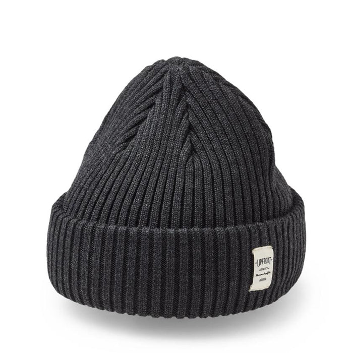 Bridge Beanie - Dark Grey Melange