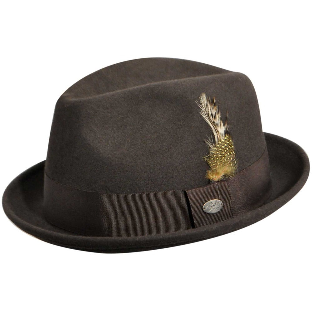 Bailey - Cloyd Felt Hat - Grey