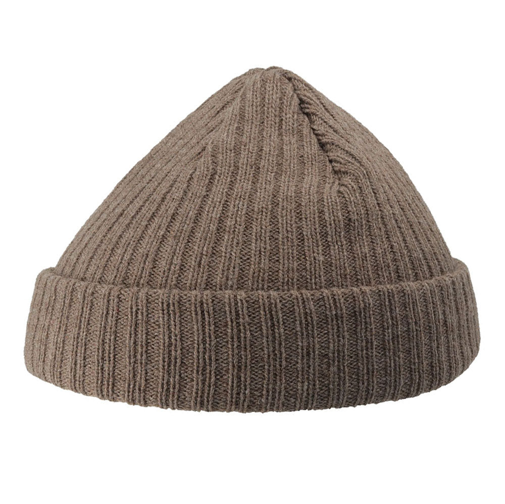 Atlantis - Docker Beanie - Light Brown Melange