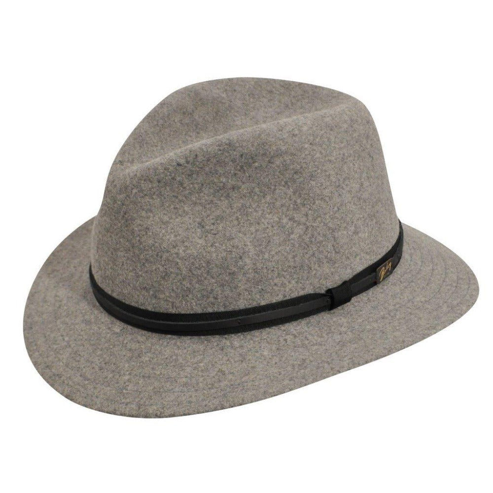 Bailey - Evans Felt Hat - H.Grey
