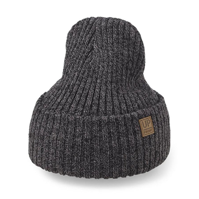 Upfront - Eastwood Beanie - Black Dark Grey